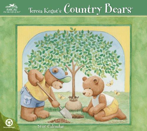 Teresa Kogut Country Bears 2010 Wall Calendar (2010 Bears Calendar)