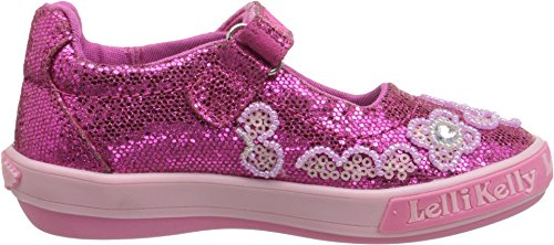 Lk1101 Jane Fashion Mary Girls Glitter Lelli Flats Kelly Kids Shoes Fuchsia wqxItT