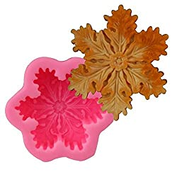 VALINK Snowflake shape Silicone Candle Mold Clay S