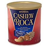 10 oz CASHEW ROCA Canister - Case of 9 Canisters