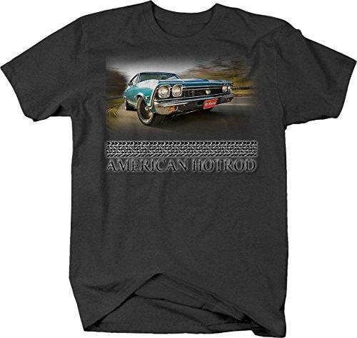 American Hotrod Chevrolet SS Chevelle Racing Driving Tshirt - XLarge