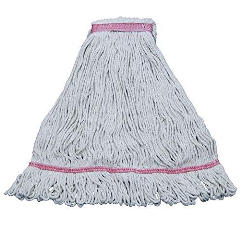 Eliminator Blended Mop, White, Large, 24 oz (21 Units)