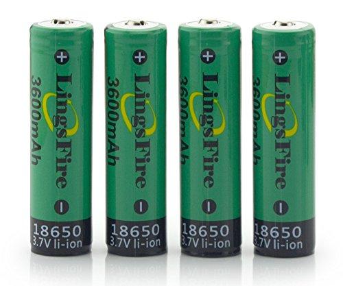 LingsFire 3600mah Rechargeable Flashlight Headlamps
