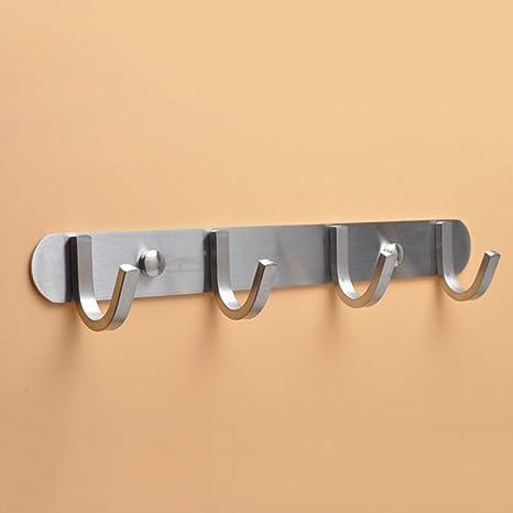Perchero de montaje en pared para puerta Colgadores de ...