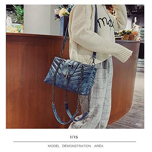 Casual Day Tassel Kcjmm Handbag Rombal Mother Gift Valentine Blue Chain Hanging w8qqRxXZ