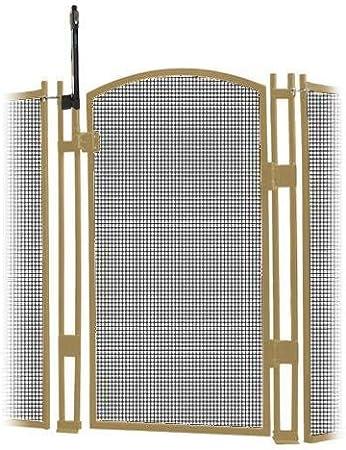 Sentry seguridad piscina valla valla de cierre con autocierre, visiguard 5 de altura/Self piscina puerta de seguridad para niños: Amazon.es: Jardín