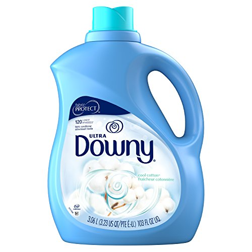 (Downy Ultra Cool Cotton Liquid Fabric Conditioner, 103 Fluid Ounce)