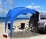 Eurow Tail Gator Sunshade Portable Shade - Blue