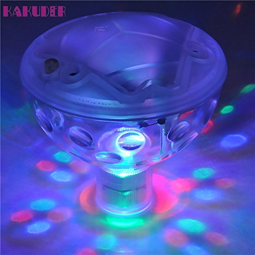 Autumn Water Pool light Floating Underwater LED Disco Light Glow Show Swimming Pool Hot Tub Spa Lamp lumiere disco piscine