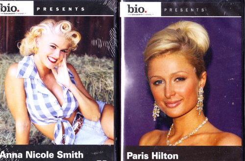 Paris Hilton Biography , Anna Nicole Smith Biography : Blonde Bombshell 2 Pack Collection (Free Paris Hilton Sex Video)