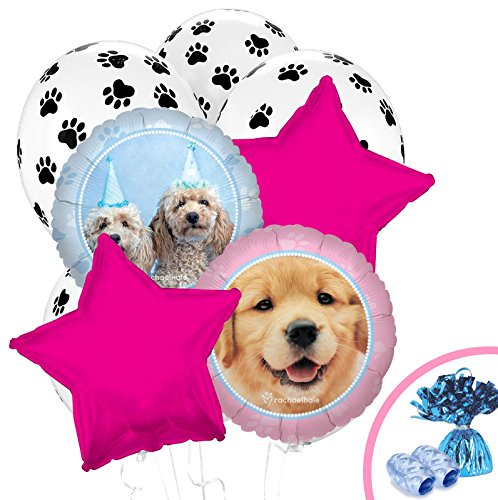 Wholesale Party Supplies (Rachael Hale Glamour Dogs Party Supplies - Balloon Bouquet)