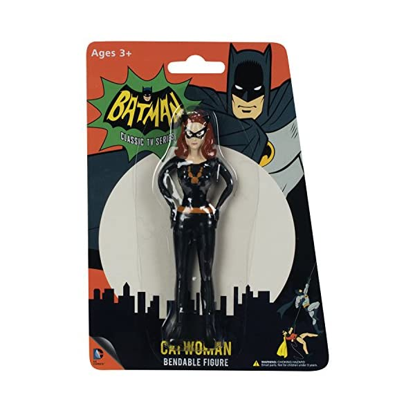Toysmith Catwoman Bendable Action Figure