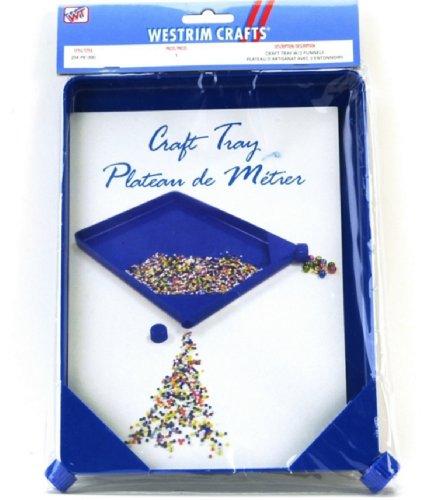 Blue Moon Beads ZT-001-00204 Plastic Craft Tray