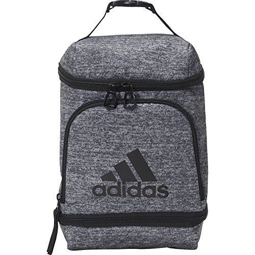 adidas Unisex Excel Insulated Lunch Bag, Onix Jersey|Black, ONE SIZE