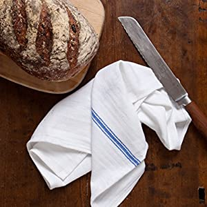 """Liliane Collection 13 Kitchen Dish Towels - 27"""" x 14"""" 2-ply Commercial Grade Absorbent 100% Cotton Kitchen Towels - Classic Herringbone Tea Towels"""