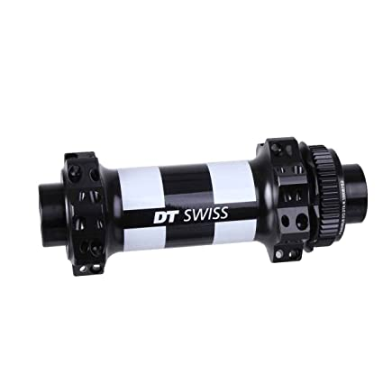 DT Swiss 350 Straight-Pull Front Hub 28h 15mm Boost Disc Black//White