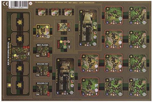 Heroes of Normandie - UK Canadian Infantry Platoon Board Game [並行輸入品] B07SC6NRP7