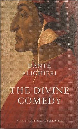 books written by dante alighieri