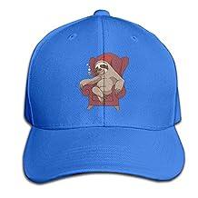 Sophisticated Sloth Funny Mens&womens Classic Style Comfortable Sun Cap Baseball Cap