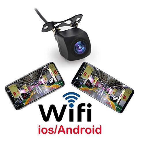 LWTOP Cámara de reversa inalámbrica WiFi Coche cámara de Repuesto en Tiempo Real transmisor de vídeo Mini tamaño...