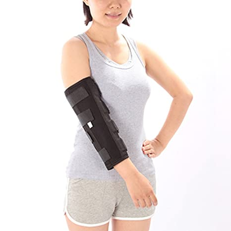 9132cd43d5 TSAR003 Elbow Arm Braces Support Band Pad Belt Adjustable Immobilizer Strap  Wrap Sleeve Protector Summer Winter