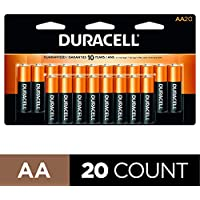 20-Count Duracell CopperTop AA Alkaline Batteries