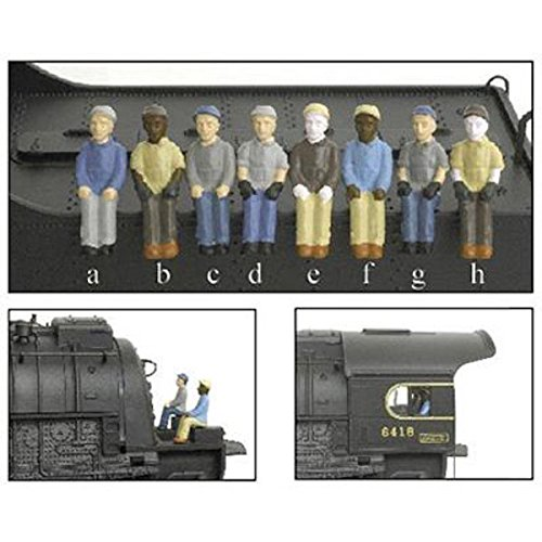 Broadway Limited BLI1005 HO Engineer/Fireman B (c&h) (2)