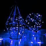 LED SopoTek 7ft 20 LEDS Blue Starry Lights Fairy Lights silver LED Lights Strings AA Battery Powered Ultra Thin String Wire(20 Leds Blue Battery not included)