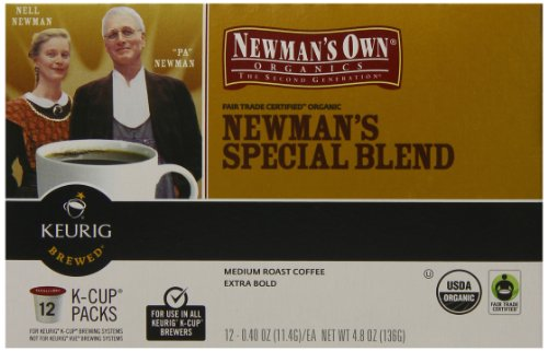 Newman's Own Organics Special Blend, Keurig K-Cups, 72 Count