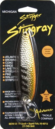 Advance Tackle Stinger Spooner 4.25-Inch Chicken Wing Fishing Lure, - Michigan Stinger