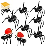 [24 Pack] Ant Food Picks Reusable Fruit Dessert Fork - Pinowu Ant Toothpicks Animal Appetizer Forks for Snack Cake Dessert with Gift Box