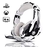 Gaming Headset for PS4, Xbox