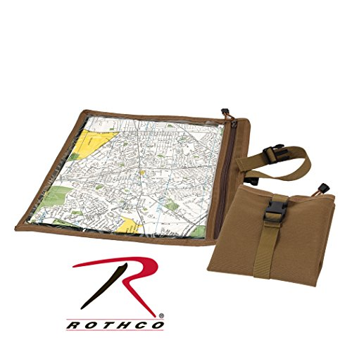 Rothco Map & Document Case, Coyote