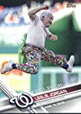 2017 Topps Baseball Series One First Pitch #FP-10 Leslie Jordan Nationals