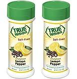 True Lemon Pepper Seasoning (2 pack) Natural Ingredients, No Salt, No Gluten