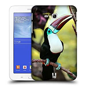 Head Case Designs White Throated Toucan Famous Animals Protective Snap-on Hard Back Case Cover for Samsung Galaxy Tab 3 Lite 7.0 T111 T110