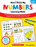 Now I Know My Numbers Learning Mats, Lucia Kemp Henry, 0545320623