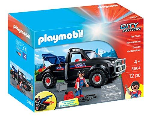 PLAYMOBIL Tow Truck Playset ()