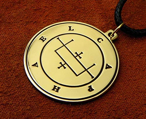 Amulet of the greatest fortune and long life The Mystery of the Fourth Seal Pendant or Wallet insert card 6th and 7th Books of Moses