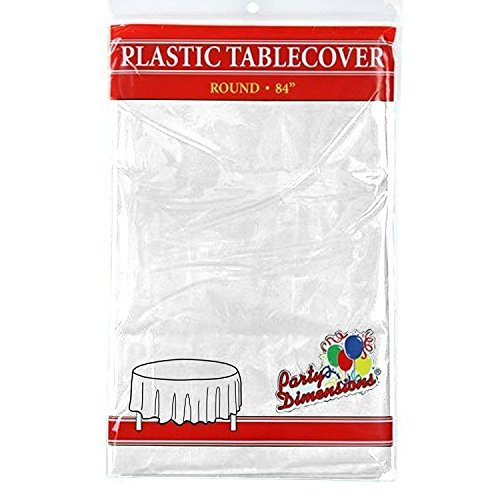 Review White Round Plastic Tablecloth