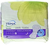 TENA Intimates Overnight Pads, 28 Count (1 Pack)