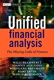 Unified Financial Analysis, Willi Brammertz and Ioannis Akkizidis, 0470697156