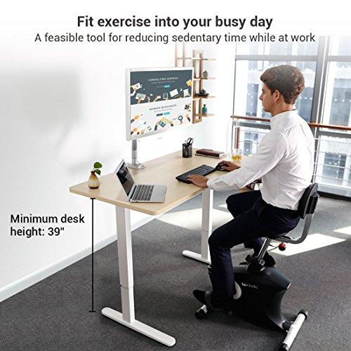 Loctek Under Desk Home Office Cycle Sit Stand Desk Bike