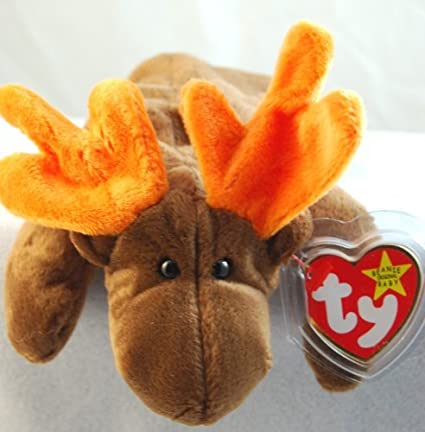 83ca2c4717e Amazon.com  Ty Beanie Babies Chocolate the Moose  Toys   Games