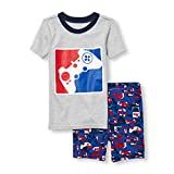 #6: The Children's Place Big Girls' Top and Shorts Pajama Set