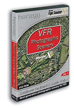 VFR Photographic Scenery: Southern England & South Wales Add-On for