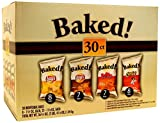 Lays Oven Baked Potato Chips Variety Pack, 30 Count