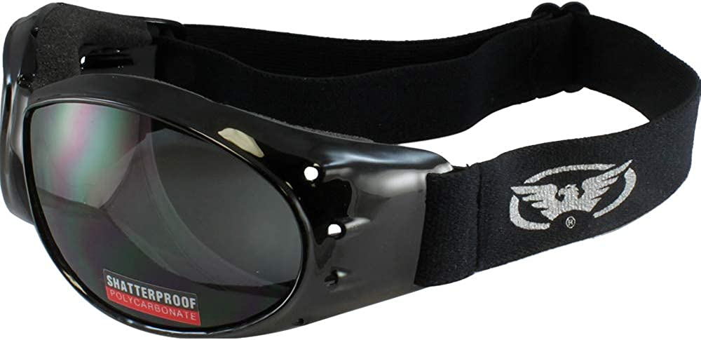 Global Vision Eyewear Eliminator Goggles with Micro-Fiber Pouch