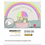 Amazon eGift Card - Anniversary Blessings (Animated) [American - Best Reviews Guide