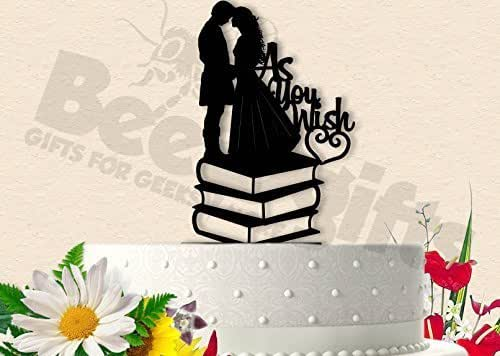 Amazon.com: As You Wish With Books Princess Bride Wedding